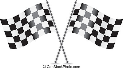 交替變換, 旗, (racing, flags).