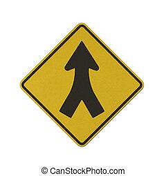 交通標識, リサイクルされる, ペーパー