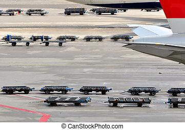 交通機関, 空気。