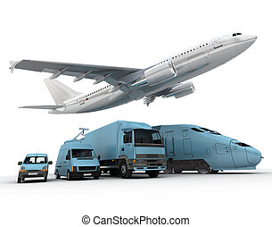 交通機関, 貨物