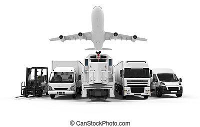 交通機関, 黄色, 貨物