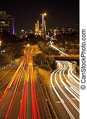 交通, 夜晚