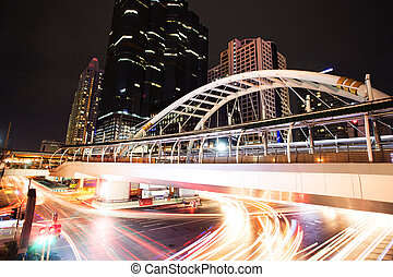 交通, 現代, 城市, 形跡