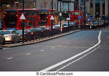 交通, 財政, 日没, 地区, ロンドン