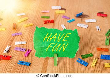 享乐, 报纸, 词汇, 彩色, clothespin, 娱乐, 正文, 空, 提供, 概念, 任务, 有, 地板, ...