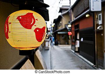 京都, 夜