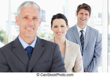 人々の続くこと, ビジネス, 微笑, 2, 経営者, 若い
