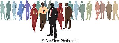 人々ビジネス, ネットワーク