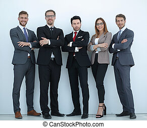 人々ビジネス, 一緒に, 成功した, フルである, 地位, グループ, growth.