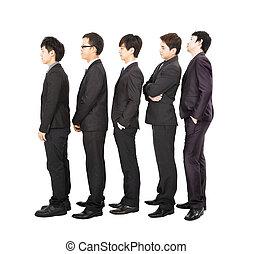 人々ビジネス, 待つこと, 地位, 線