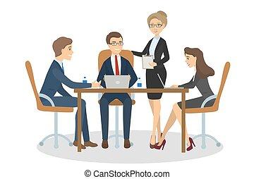 人々ビジネス, meeting.