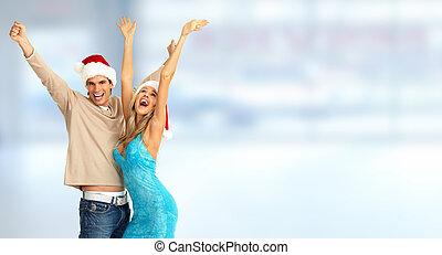 人々。, クリスマス, 幸せ