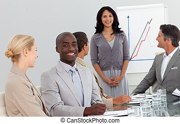 人々, グループ, ビジネス, 幸せ