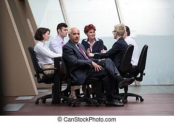 人々, ミーティング, グループ, ビジネス