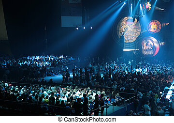 人々, 上に, コンサート