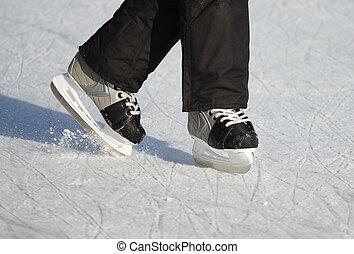 人々, 上に, ∥, スケート