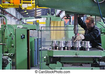 人々, 労働者, 工場, 産業