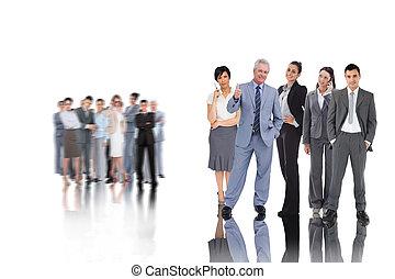 人々, 合成の イメージ, ビジネス