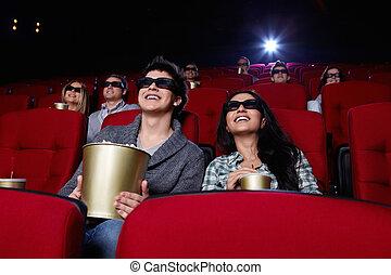 人々, 映画館