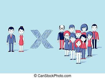 人々。, 漫画, グループ