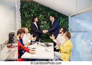 人々, 結論, 合意, ビジネス