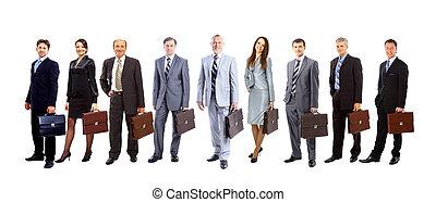 人々, 若い, 魅力的, ビジネス