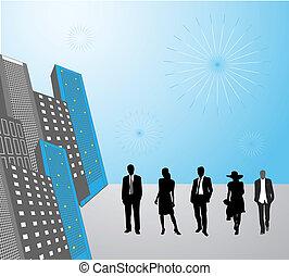人々, 都市ビジネス