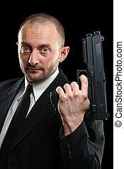 人の保有物銃