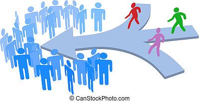 人们, 加入, 社会, 公司, 队