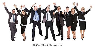人們的組, 興奮, 商業界人士