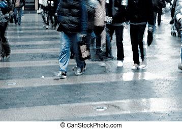 人們, 上, 街道
