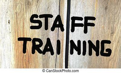 人員, 訓練, 概念