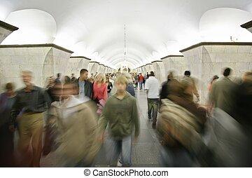 人在, 地下鐵道