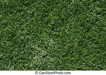 人工的草皮, 背景