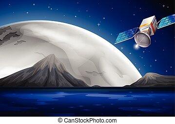 人工衛星, 海洋