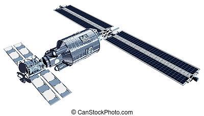 人工衛星, 電気通信