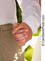 人物面部影像逼真, 夫婦, 戒指, 交換