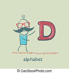 人站, 由于, a, 信, ......的, the, 字母表