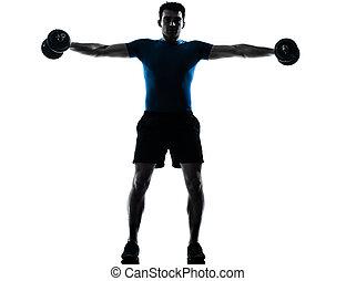 人行使, 重量訓練, 測驗, 健身, 姿勢