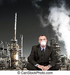 人間が座る, 近くに, rafinery