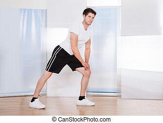 人間が運動する, 若い