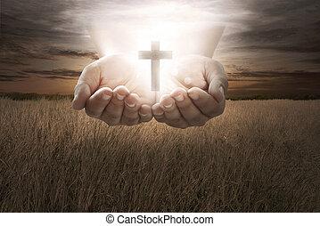 人間の術中, 把握, キリスト教徒, 交差点