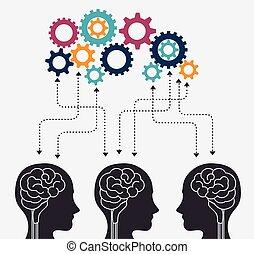 人間の頭脳, 知性