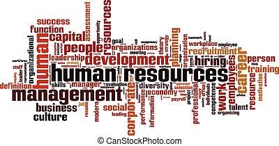 人間, 単語, 資源, 雲