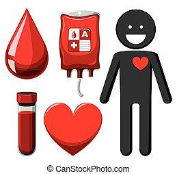 人類, 以及, 獻血