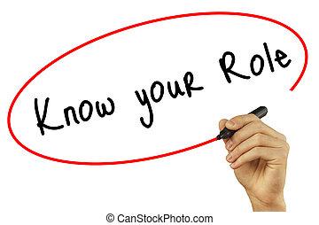 人, あなたの, 技術, 写真, concept., 隔離された, ビジネス, バックグラウンド。, ビジュアル, 役割...