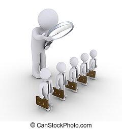 人, ある, 検査, a, グループ, の, ビジネスマン