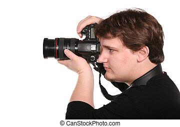 人, ∥で∥, photocamera