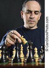 人, チェス, 遊び