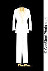 人, デザイン, あなたの, スーツ
